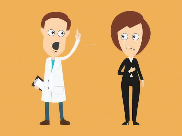 Perché rimproverare un tuo dipendente in pubblico ti costerà la stima dei tuoi pazienti