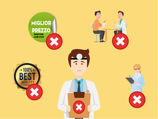 Gli errori più frequenti responsabili della crisi di uno studio dentistico