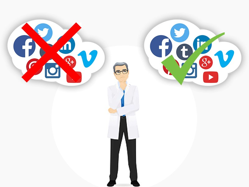 Social si… Social no… Il dentista online!