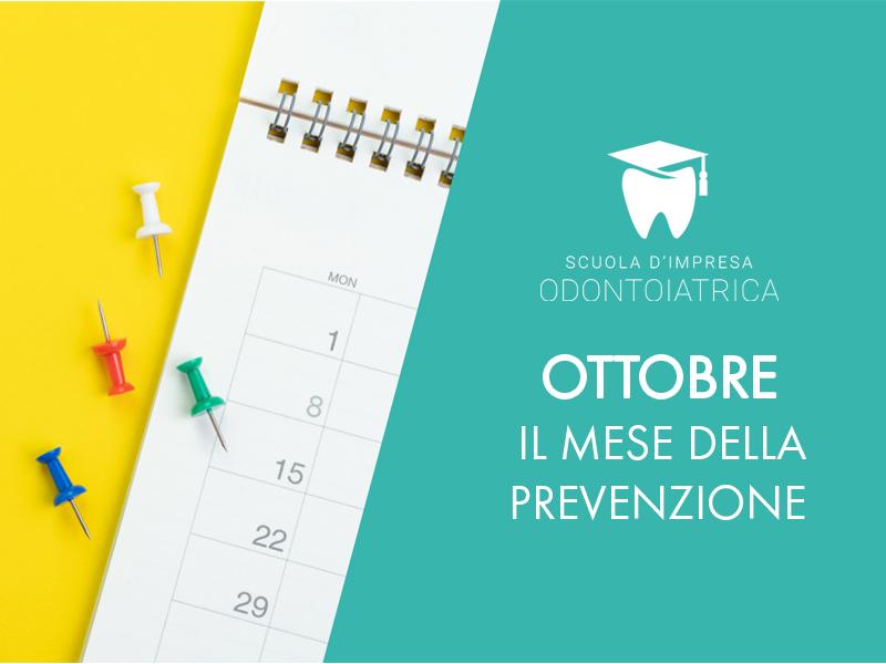 Ottobre: il mese della prevenzione